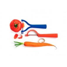 Набор овощечисток Tupperware - вертикальная и универсальная