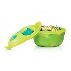 Набор Tupperware Всегда с собой 1,5л, зелёный