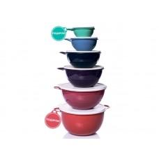 Набор чаш Tupperware Милиан ГРАНД 600мл - 1,4л - 2,75л - 4,5л - 7,5л - 10л