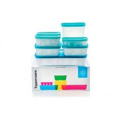 Набор охлаждающих лотков Tupperware 2,25л - 1шт, 1,1л - 1 шт, 1л - 2 шт, 450мл - 2 шт, контейнер для льда