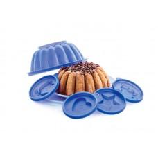 Форма Tupperware для желе, малая голубая